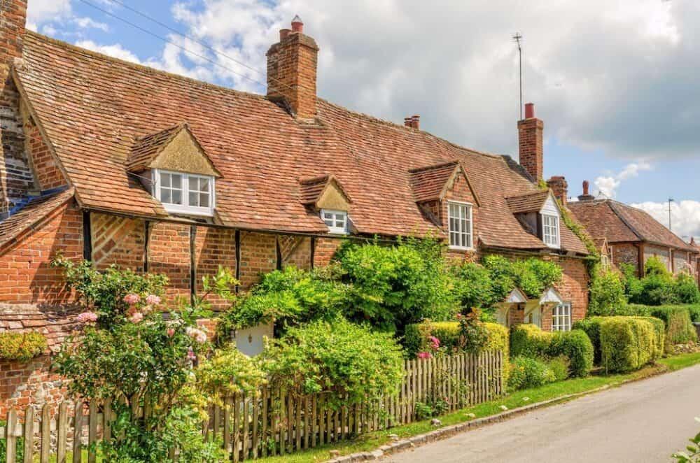 Turville - pretty village in Buckinghamshire