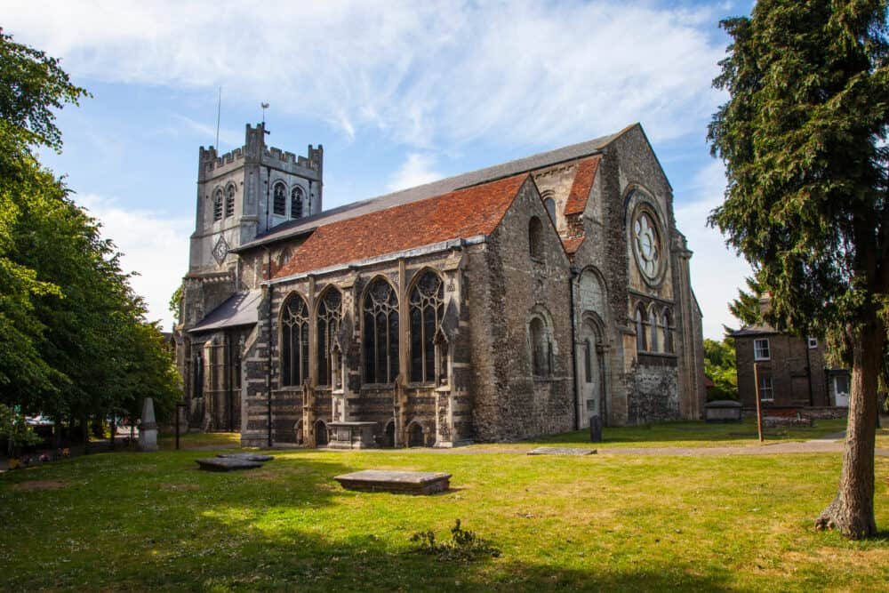 Waltham Abbey - stunning places to visit in Essex