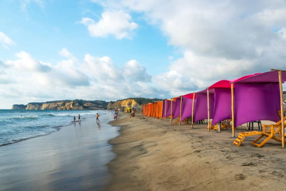 Canoa beach - best places to visit in Ecuador