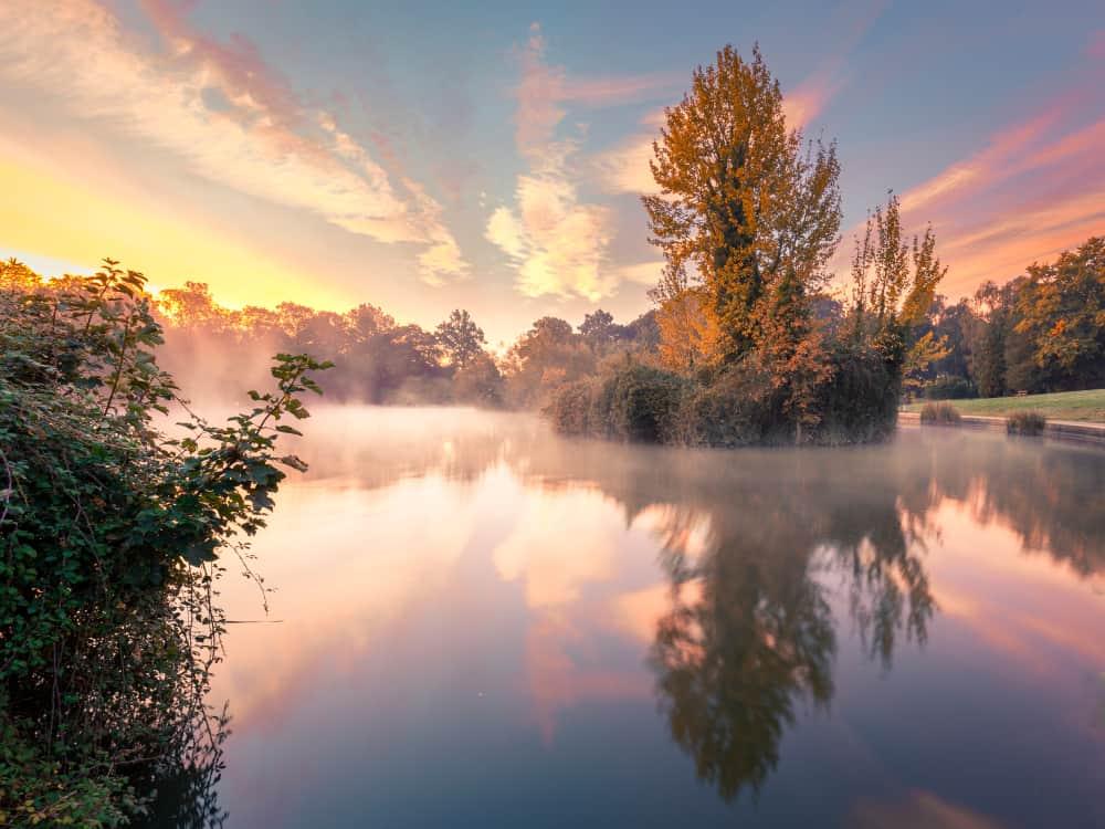 Abington Park - beauty spots in Northamptonshire