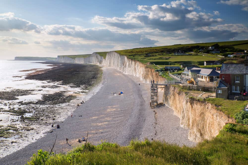 Birling Gap - places to visit in East Sussex