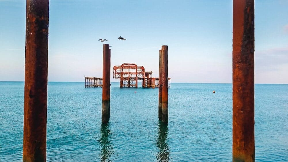 Brighton West Pier beautiful