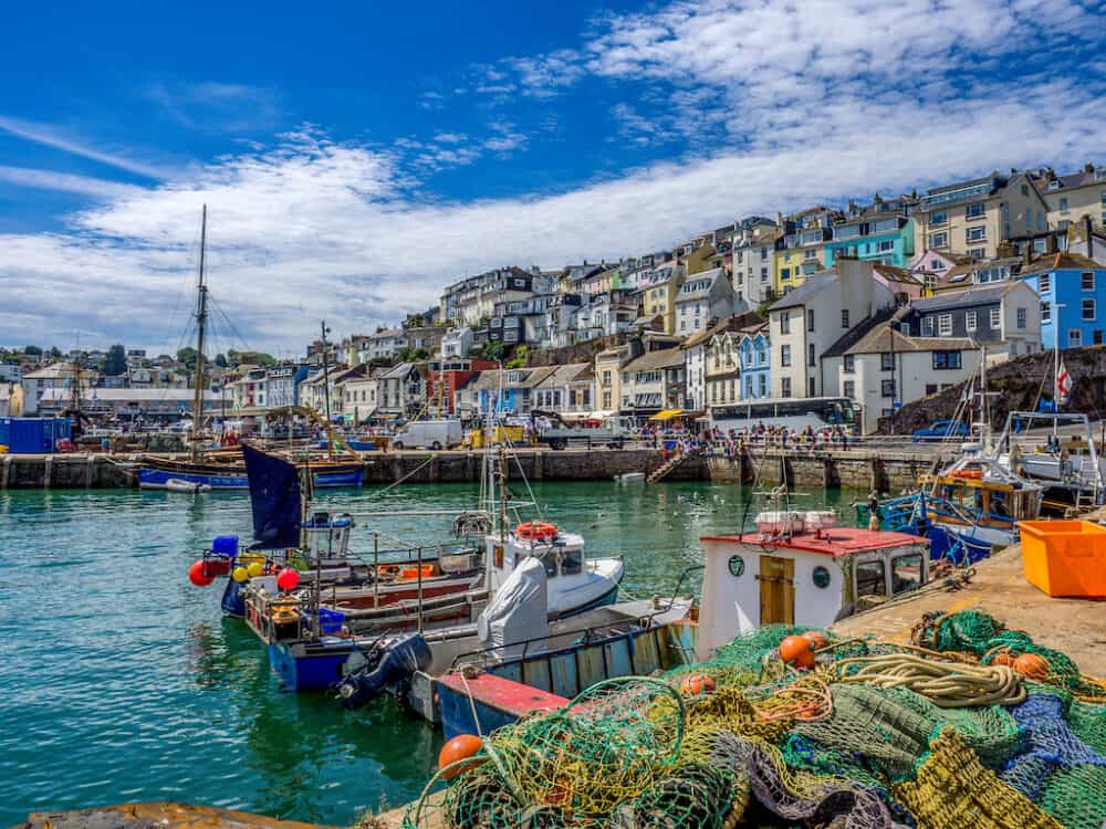 Brixham - places to visit in Devon