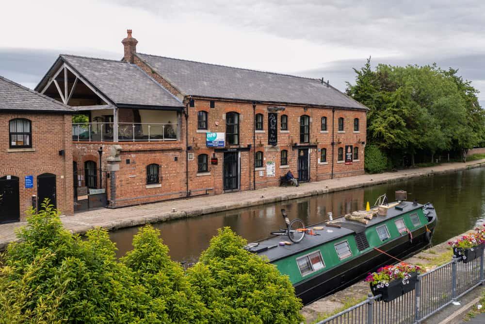 Burscough - pretty places to visit in Lancashire