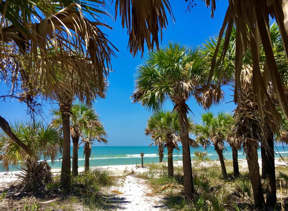 Caladesi Island - beauty spots Florida