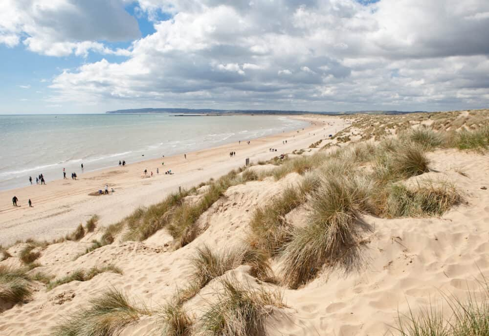 Camber Sands - pretty places to visit in East Sussex