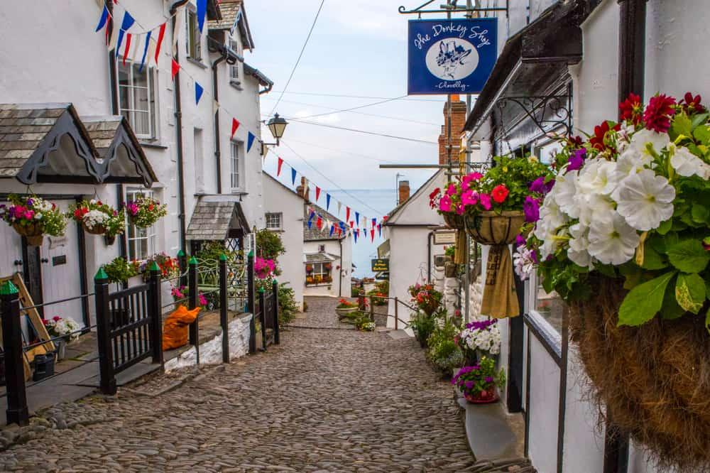 Clovelly - prettiest places in Devon