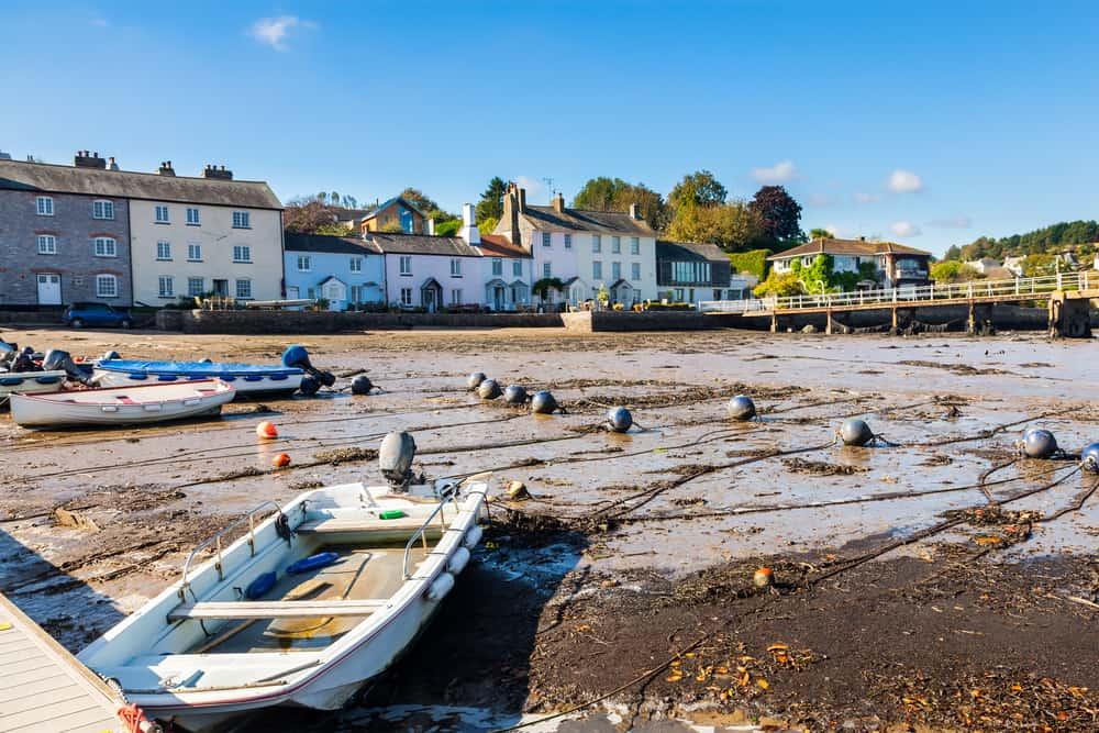 Dittisham - prettiest villages in Devon