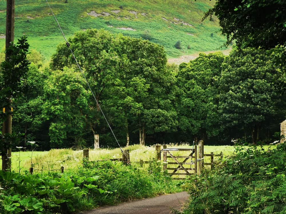 Forest of Bowland - beauty spot of Lancashire