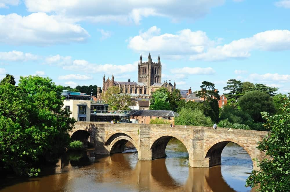 Hereford - best places to visit in Herefordshire