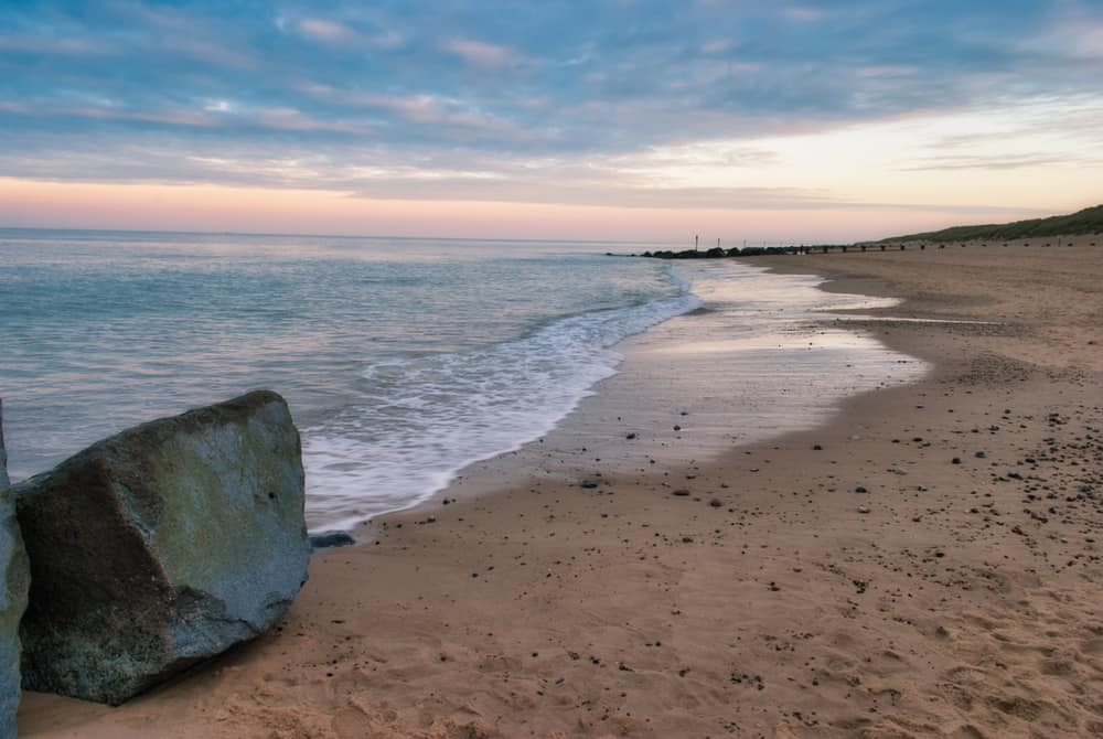 Horsey Beach - most beautiful places to visit in Norfolk