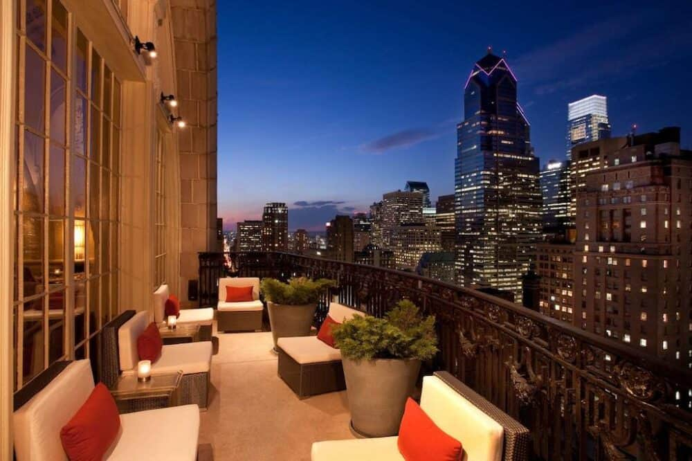 Hotel with a view Philadelphia