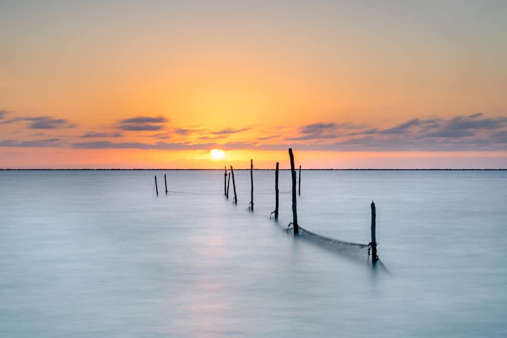 Beautiful Ijsselmeer Lake
