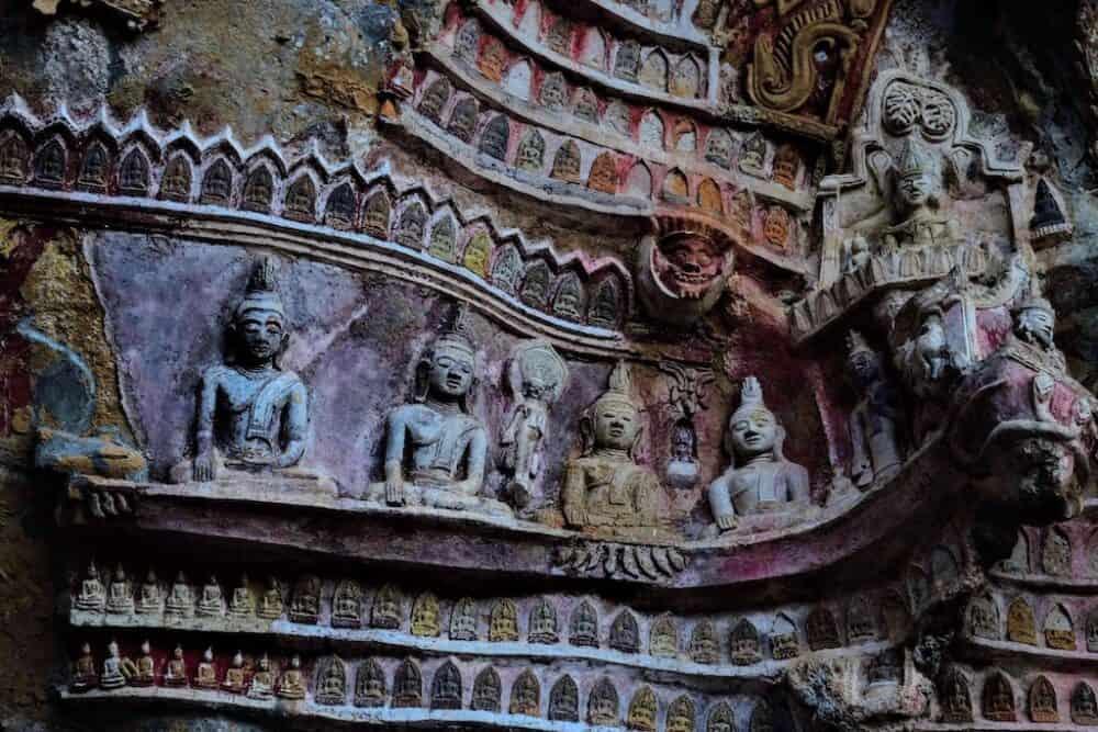 Kaw Gon Cave Burma