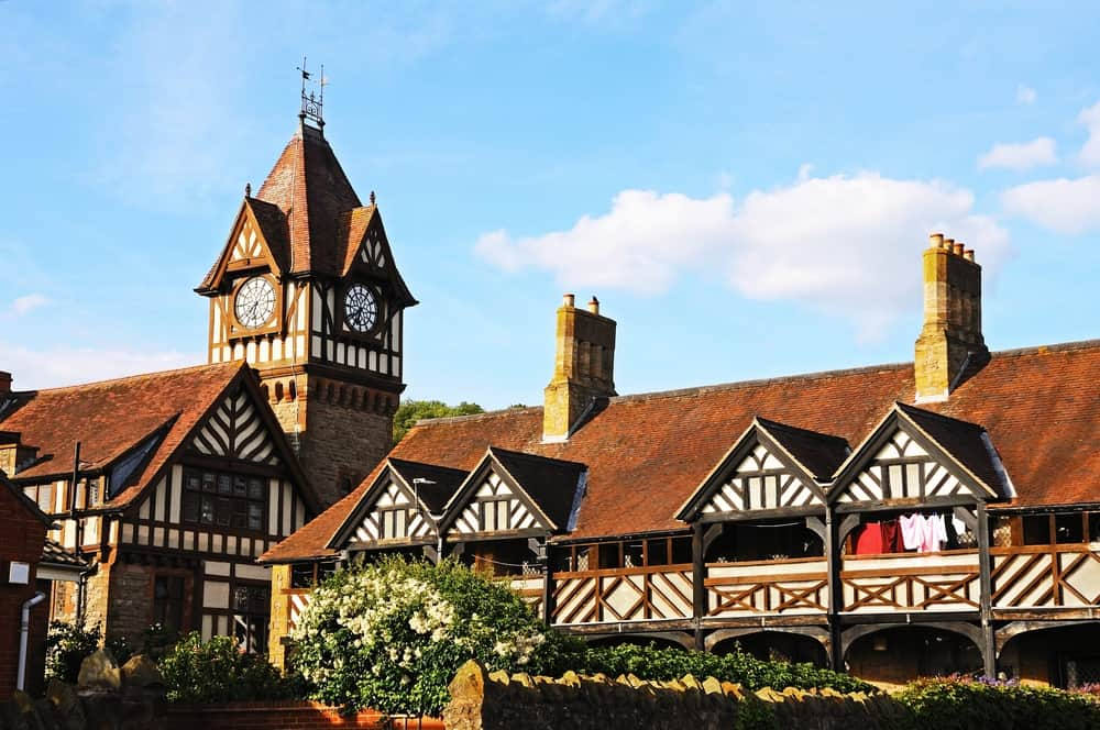 Ledbury -beauty spots in Herefordshire