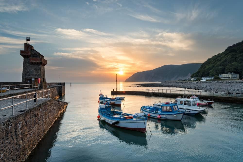 Lynmouth Harbour Devon