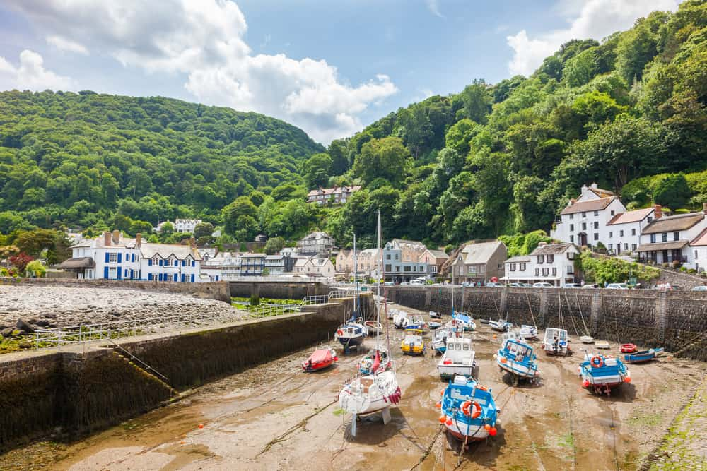 Lynmouth Harbour - places to visit in Devon