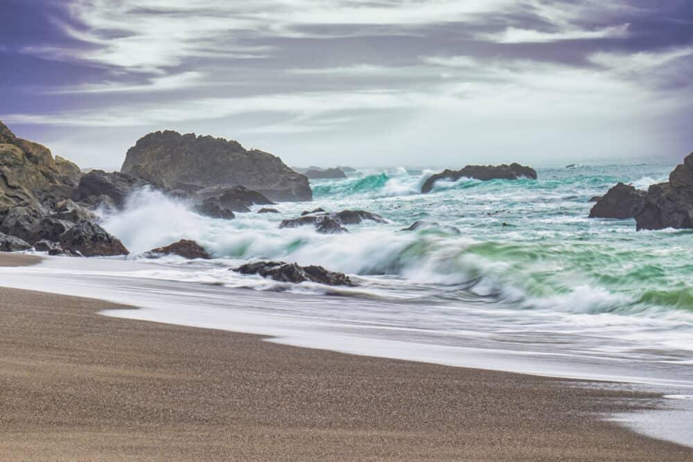 Mendocino Beach California