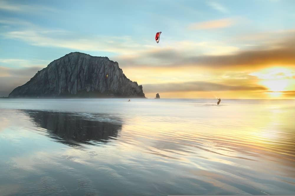 Morro Bay - beauty spots in California