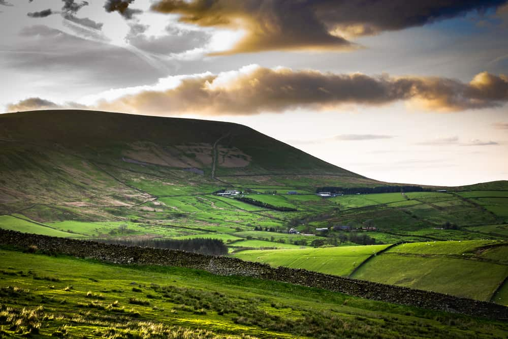 Pendle Hill - pretty places to visit in Lancashire