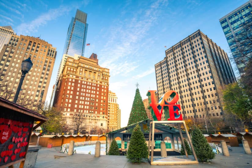 Most romantic hotels in Philadelphia