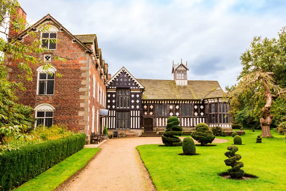 Rufford Old Hall - great attractions in Lancashire