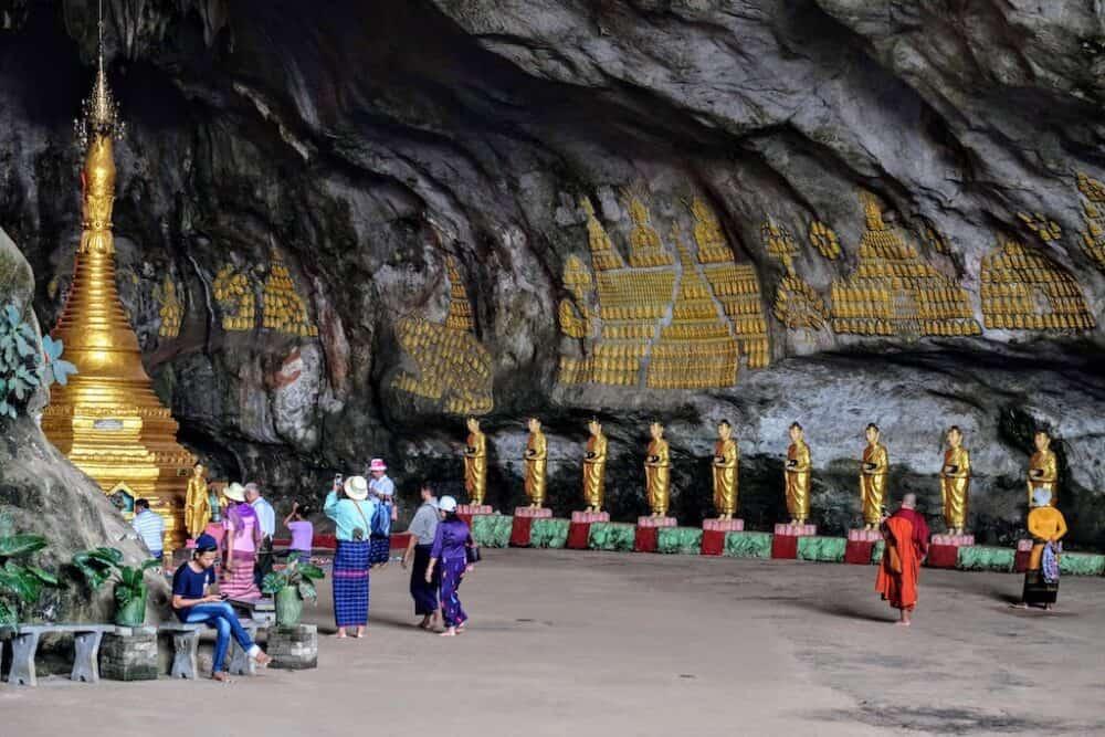 Saddan Cave Burma