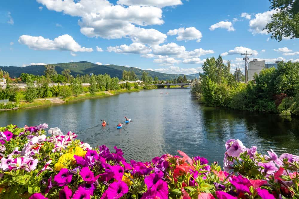 Sandpoint - beauty spots in Idaho