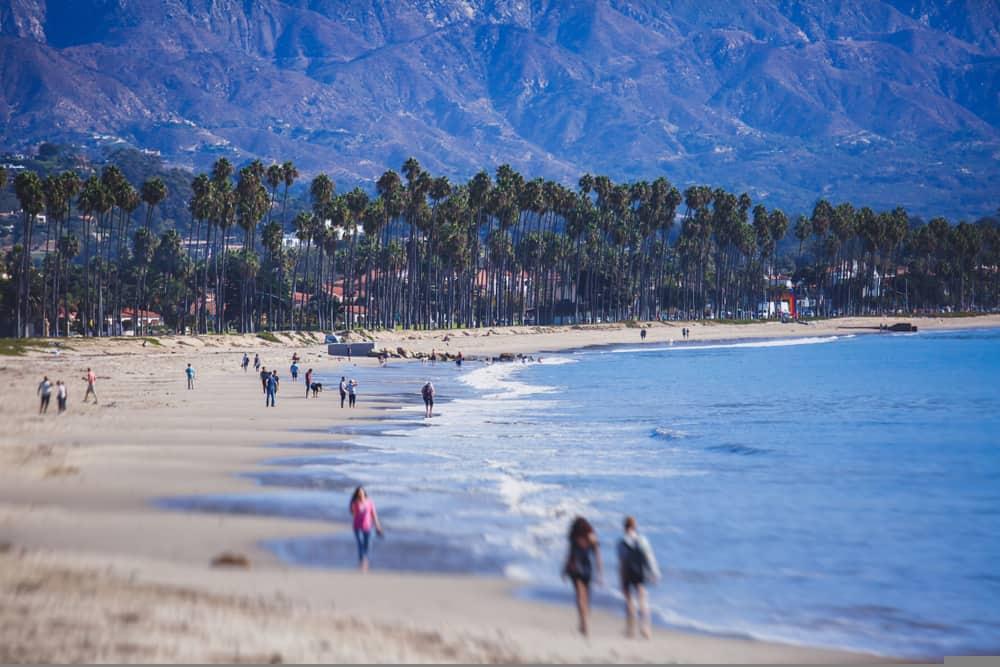 Beautiful Santa Barbara Beach