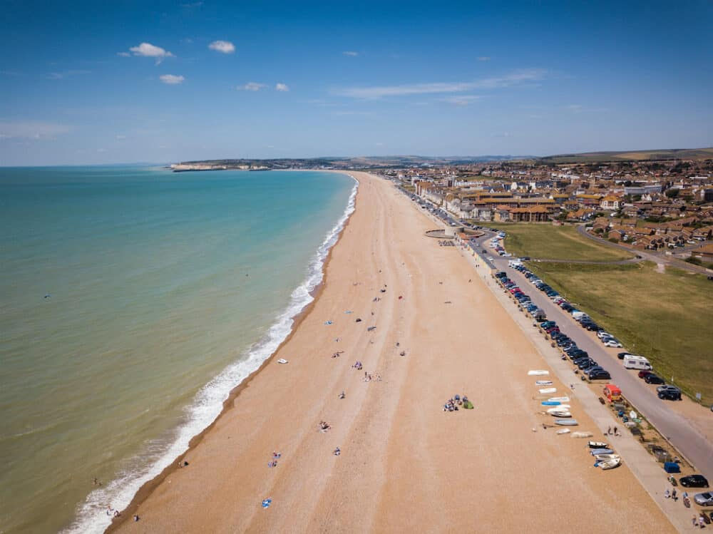 Seaford Beach - best places to visit in East Sussex