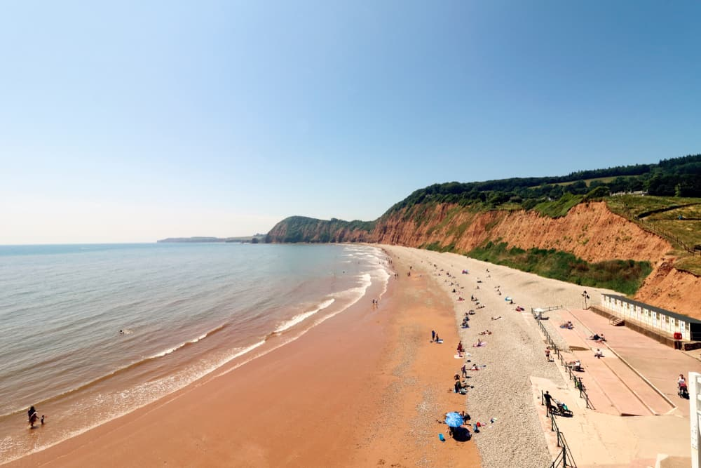 Sidmouth Beach Devon