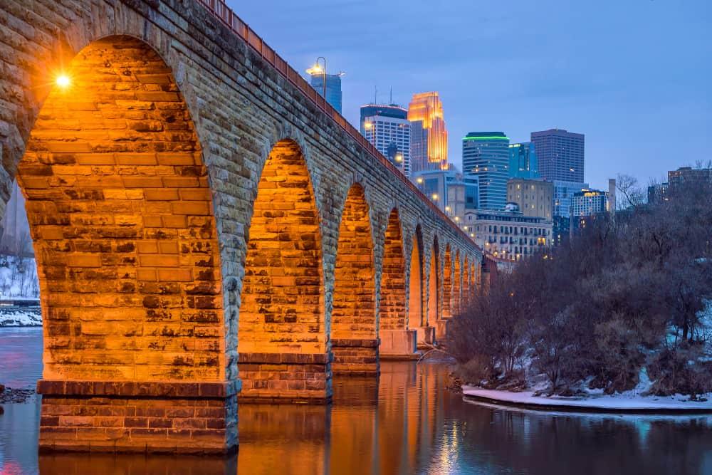 Stone Arch Bridge Minnesota