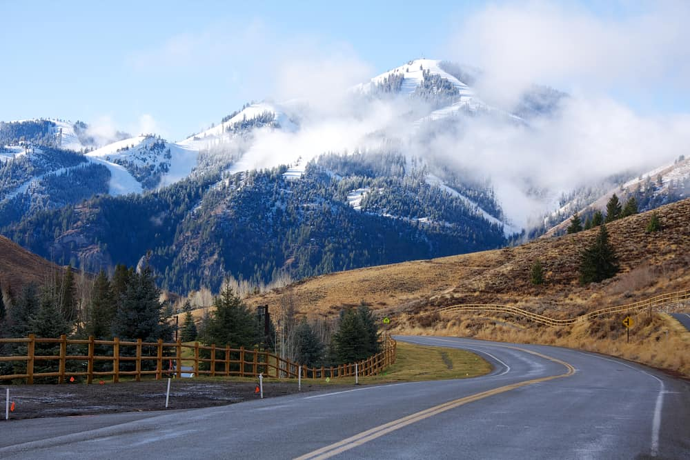 Sun Valley = best places to visit in Idaho