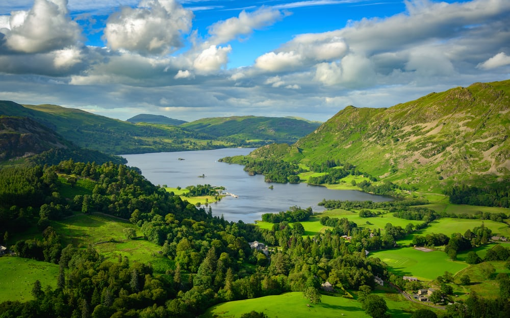 Ullswater - best lakes in the Lake District