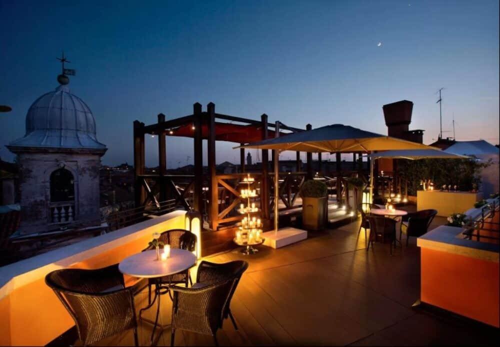 Beautiful hotel in Venice