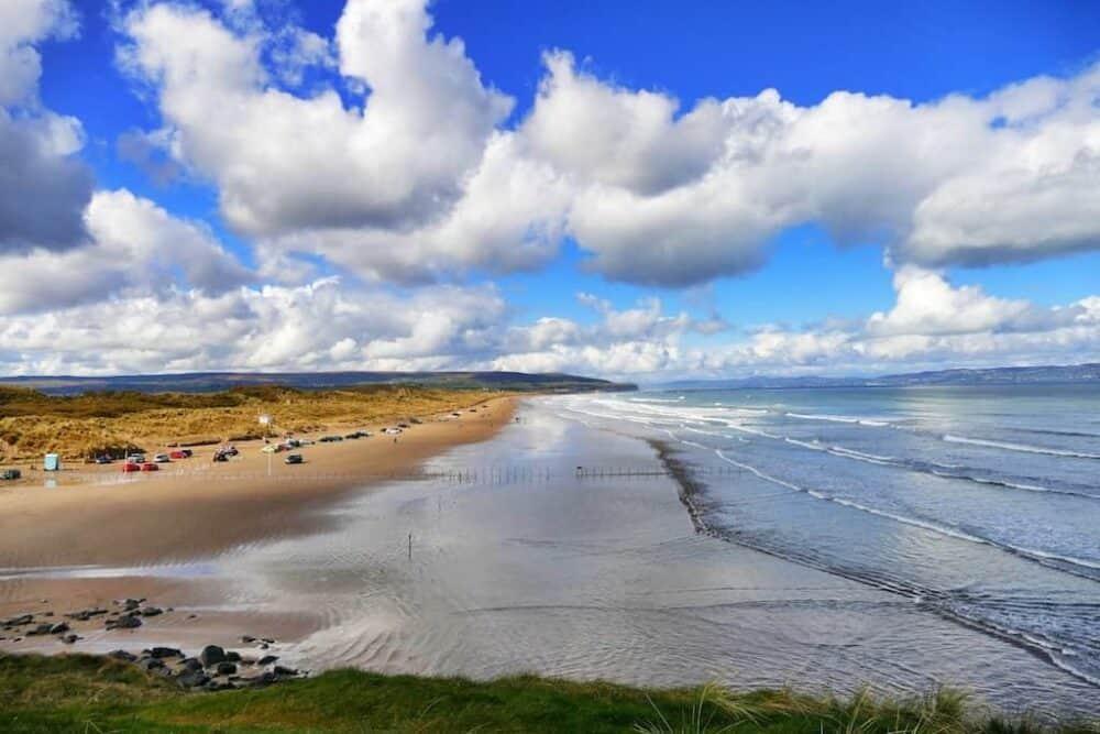 CastleRock Beach Northern Ireland