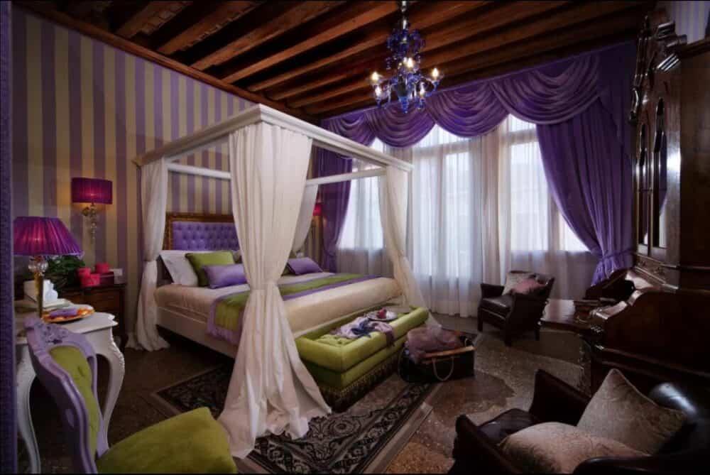 Chic and romantic hotel in Venice