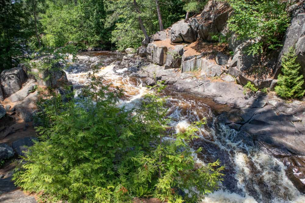 Dave's Falls - best places to visit in Wisconsin
