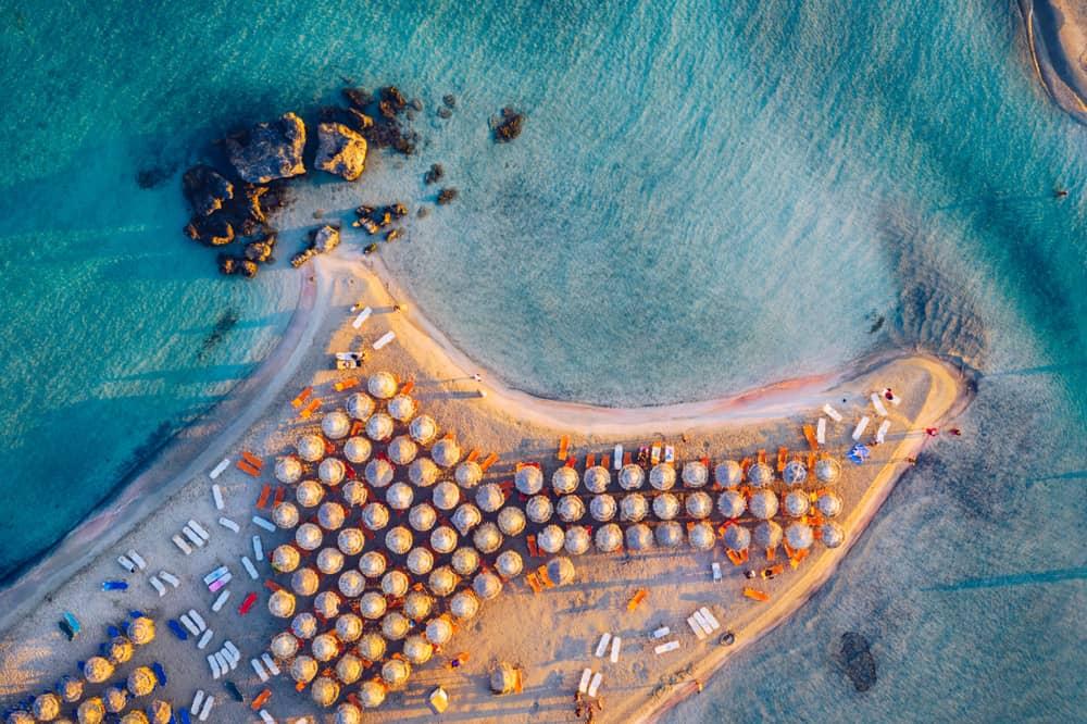Elafonisi Lagoon Crete