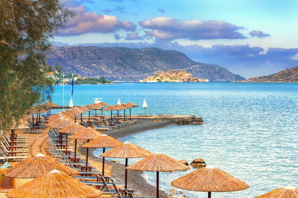 Elounda beach crete