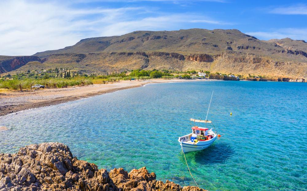 Kato Zakros Crete Beach