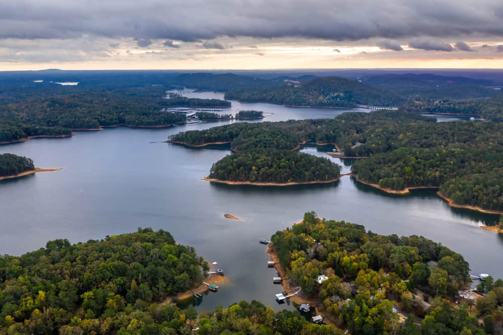 Lake Allatoona Georgia