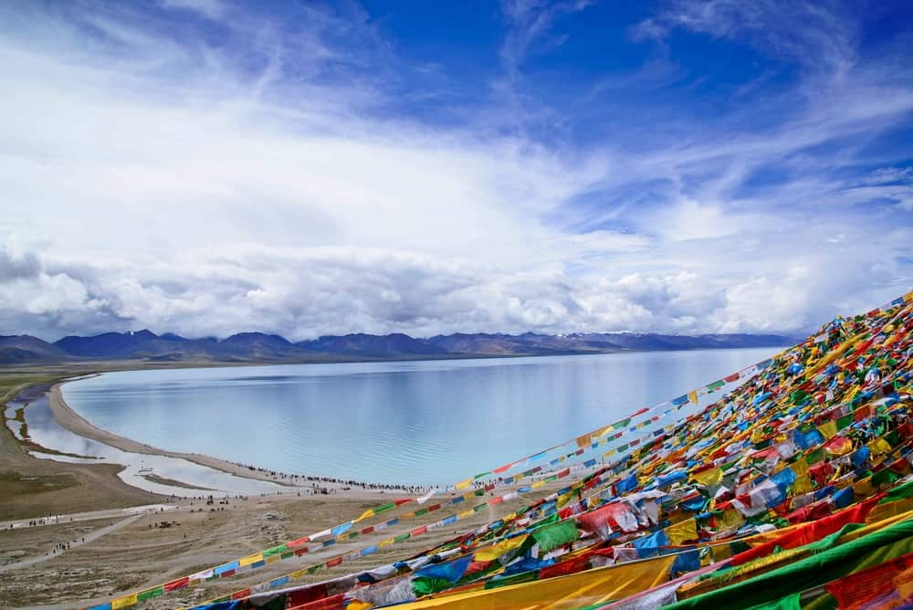 Lake Namtso - most beautiful places to visit in Tibet