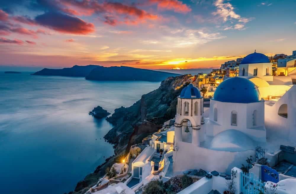 Most romantic hotels in Santorini