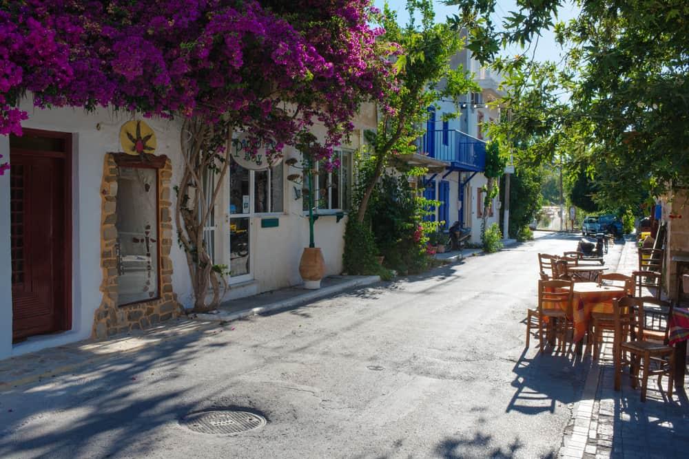 Myrtos village Crete