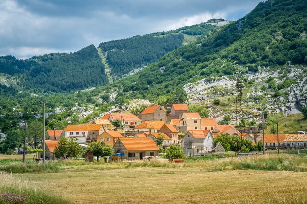 Njegusi - beauty spots in Montenegro