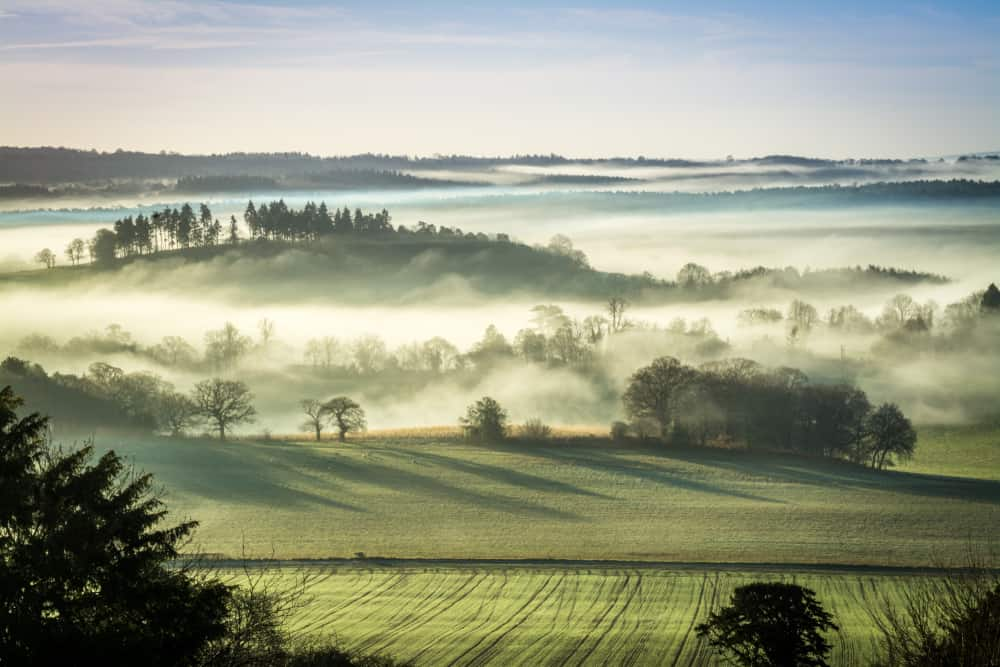North Downs - most beautiful places to visit in Surrey