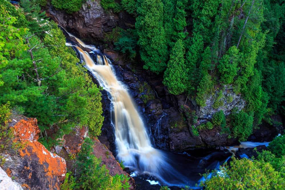 Pattison State Park Wisconsin