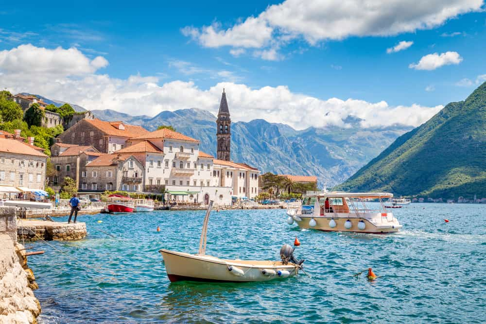 Perast - most beautiful places to visit in Montenegro