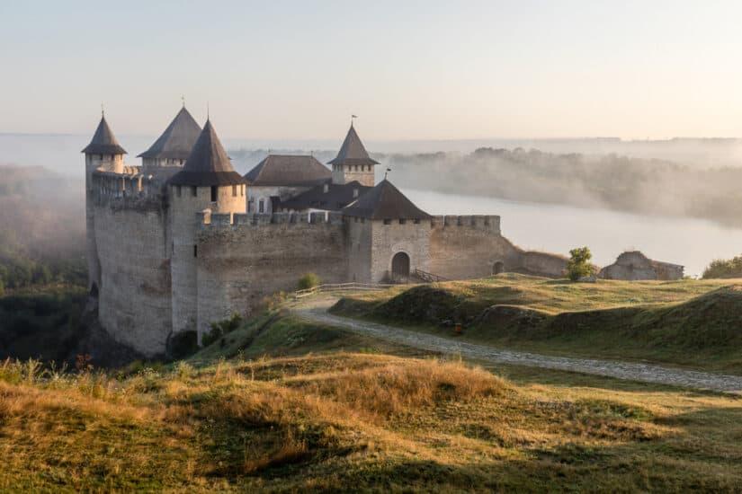 Castle in Ukraine
